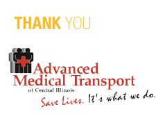 Advanced Medical Transport Thank You image